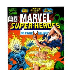 Cómics: MARVEL SUPER HEROES 11 - 1992 VFN/NM / RECUPERA MS MARVEL 25, PRIMERA REAL APARICION DE ROGUE. Lote 275876603