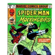 Cómics: MARVEL TEAM UP 95 SPIDER-MAN & MOCKINGBIRD - 1980 FN/VFN / 1ST MOCKINGBIRD. Lote 275877233