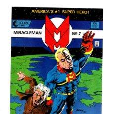 Cómics: MIRACLEMAN 7 - ECLIPSE 1986 VFN/NM / ALAN MOORE & CHUCK AUSTEN. Lote 275878963