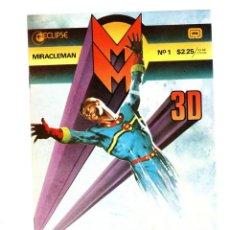 Cómics: MIRACLEMAN 3D - ECLIPSE 1985 VFN/NM / SIN GAFAS. Lote 275879293