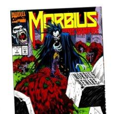 Cómics: MORBIUS THE LIVING VAMPIRE 7 - MARVEL 1993 VFN/NM. Lote 275879998