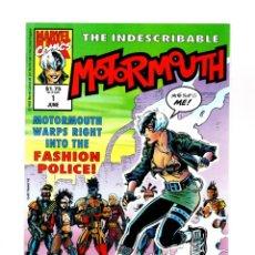 Cómics: MOTORMOUTH1 - MARVEL UK 1992 VFN/NM / NICK FURY AGENT OF SHIELD. Lote 275880878