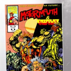 Cómics: MOTORMOUTH & KILLPOWER 11 - MARVEL UK 1993 VFN/NM. Lote 275992843