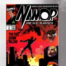 Cómics: NAMOR 5 - MARVEL 1990 VFN+ / JOHN BYRNE. Lote 275993443