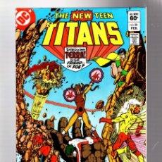 Cómics: NEW TEEN TITANS 28 - DC 1983 FN / MARV WOLFMAN & GEORGE PEREZ / VS TERRA. Lote 275995313