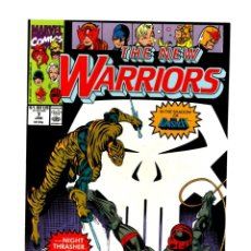 Comics: NEW WARRIORS 7 - MARVEL 1991 VFN/NM / PUNISHER. Lote 275997213