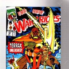 Comics: NEW WARRIORS 16 - MARVEL 1991 VFN/NM / TERRAX / FANTASTIC FOUR. Lote 275998173