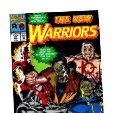 Comics: NEW WARRIORS 21 - MARVEL 1992 VFN/NM. Lote 275998688