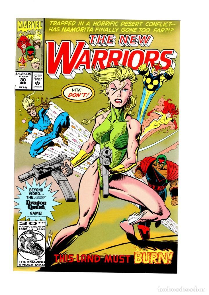 NEW WARRIORS 30 - MARVEL 1993 VFN/NM (Tebeos y Comics - Comics Lengua Extranjera - Comics USA)