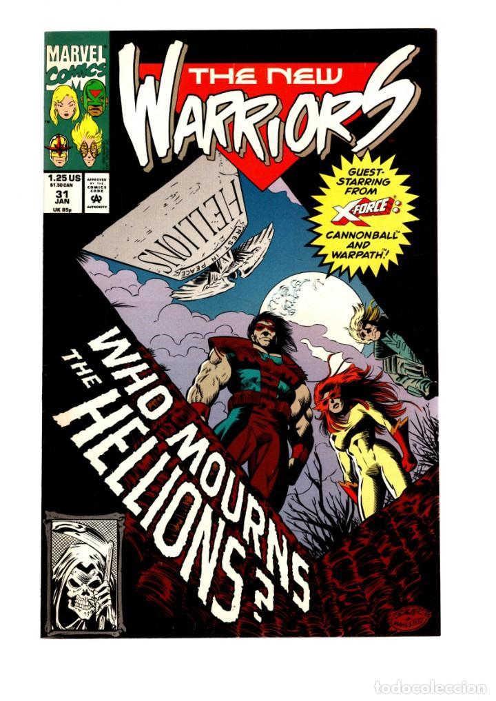 NEW WARRIORS 31 - MARVEL 1993 VFN/NM (Tebeos y Comics - Comics Lengua Extranjera - Comics USA)