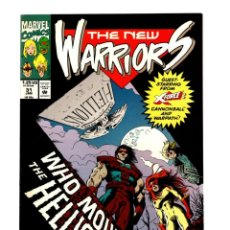 Cómics: NEW WARRIORS 31 - MARVEL 1993 VFN/NM. Lote 275999278