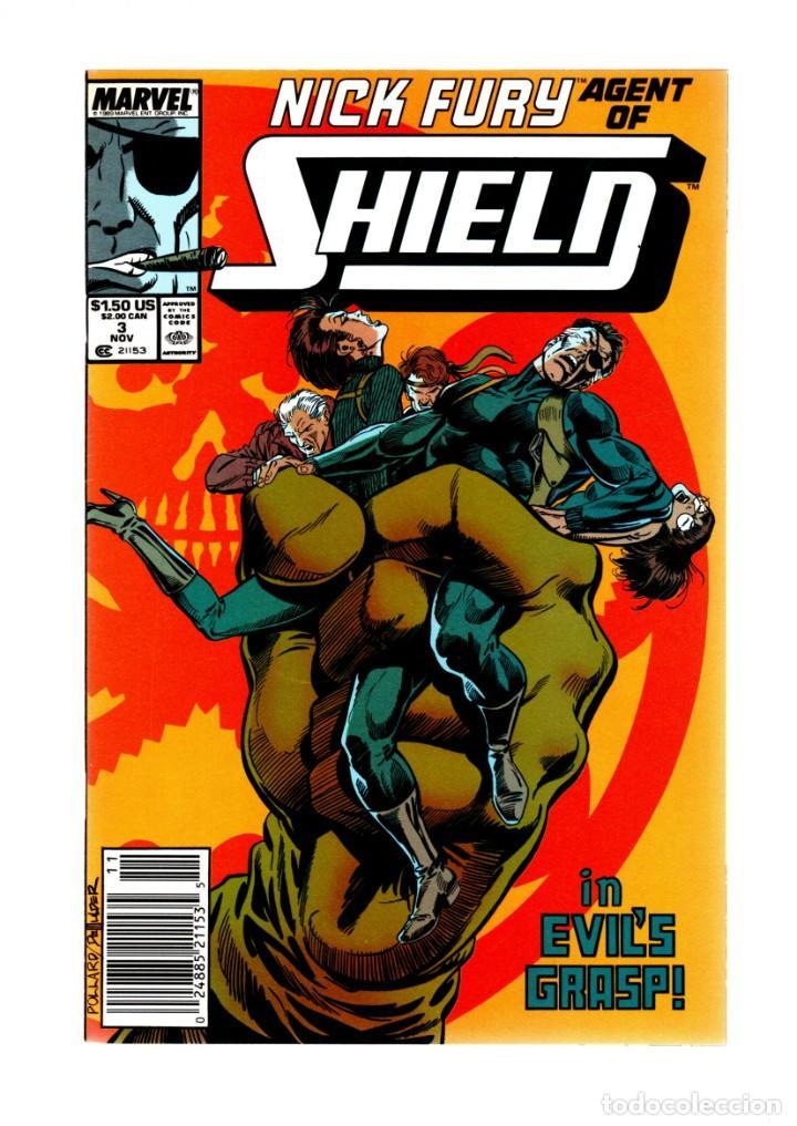 NICK FURY AGENT OF SHIELD 3 - MARVEL 1989 VFN/NM (Tebeos y Comics - Comics Lengua Extranjera - Comics USA)