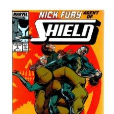 Cómics: NICK FURY AGENT OF SHIELD 3 - MARVEL 1989 VFN/NM. Lote 276001028