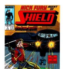 Cómics: NICK FURY AGENT OF SHIELD 7 - MARVEL 1989 VFN/NM. Lote 276001423