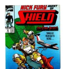 Cómics: NICK FURY AGENT OF SHIELD 8 - MARVEL 1990 VFN/NM. Lote 276001528