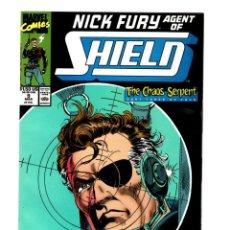 Cómics: NICK FURY AGENT OF SHIELD 9 - MARVEL 1990 VFN/NM. Lote 276001663