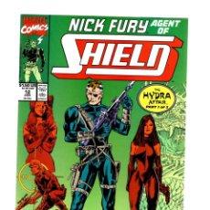 Cómics: NICK FURY AGENT OF SHIELD 12 - MARVEL 1990 VFN/NM. Lote 276001833