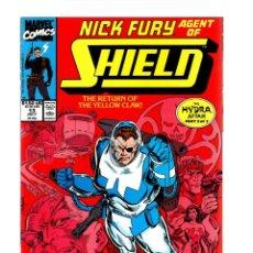 Cómics: NICK FURY AGENT OF SHIELD 13 - MARVEL 1990 VFN/NM. Lote 276001918