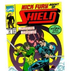 Cómics: NICK FURY AGENT OF SHIELD 14 - MARVEL 1990 VFN/NM. Lote 276002028