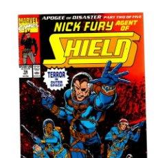 Cómics: NICK FURY AGENT OF SHIELD 16 - MARVEL 1990 VFN/NM. Lote 276002463