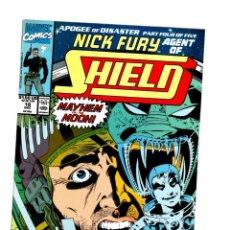 Cómics: NICK FURY AGENT OF SHIELD 18 - MARVEL 1990 VFN/NM. Lote 276002763