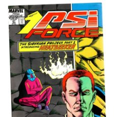Cómics: PSI FORCE 27 - MARVEL NEW UNIVERSE 1989 VFN-. Lote 276021548
