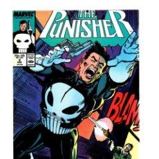 Cómics: PUNISHER 4 - MARVEL 1987 VFN/NM / MIKE BARON & KLAUS JANSON. Lote 276022703