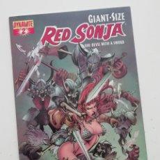 Cómics: RED SONJA GIANT SIZE 2, DE DARK HORSE, CON HISTORIAS DE RED SONJA DE FRANK THORNE. ORIGINAL USA. Lote 276452348