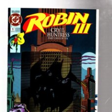 Comics : ROBIN : CRY OF THE HUNTRESS 1 - DC 1992 VFN/NM MOVEMENT ENHANCED COVER & POSTER. Lote 276530978