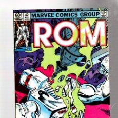 Cómics: ROM SPACEKNIGHT 42 - MARVEL 1983 VFN- / BILL MANTLO & SAL BUSCEMA / DOCTOR STRANGE. Lote 276534533