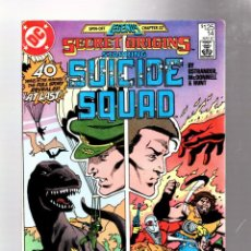 Fumetti: SECRET ORIGINS 14 - DC 1987 VG / SUICIDE SQUAD / JOHN OSTRANDER & LUKE MCDONNELL. Lote 276536133