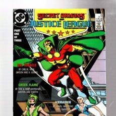 Fumetti: SECRET ORIGINS 33 - DC 1988 VFN- / JLI / MISTER MIRACLE / GREEN FLAME / ICEMAIDEN. Lote 276538463