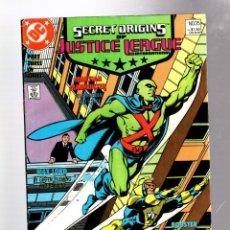 Fumetti: SECRET ORIGINS 35 - DC 1989 VFN- / JLI / MARTIAN MANHUNTER / BOOSTER GOLD / MAX LORD. Lote 276538878