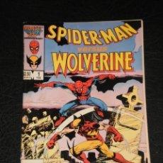 Cómics: SPIDER-MAN VERSUS WOLVERINE #1 – MARVEL FEBRUARY 1987- ORIGINAL USA - GOOD CONDITION!!. Lote 276661963