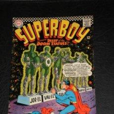Cómics: SUPERBOY Nº 136 –DC 1967 - SUPERBOY VISITS THE 50TH CENTURY - CURT SWAN GEORGE KLEIN - ORIGINAL USA. Lote 276697118
