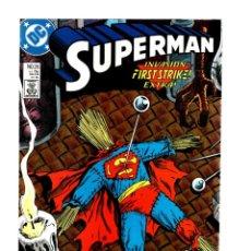Cómics: SUPERMAN 26 - DC 1989 VFN/NM / STERN & GAMMILL / INVASION. Lote 293452328