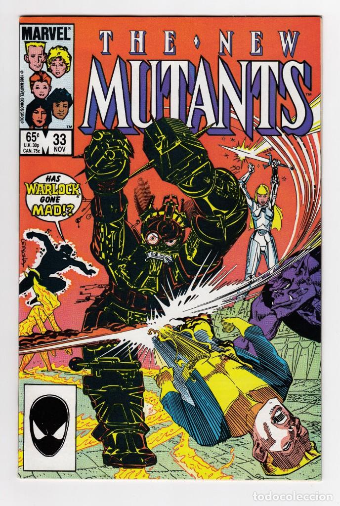 THE NEW MUTANTS 33 - MARVEL USA – 1985 (Tebeos y Comics - Comics Lengua Extranjera - Comics USA)