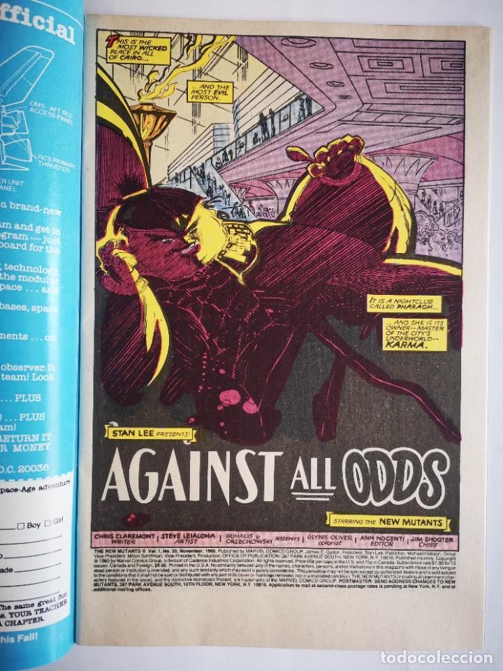 Cómics: The New Mutants 33 - Marvel USA – 1985 - Foto 3 - 276911418