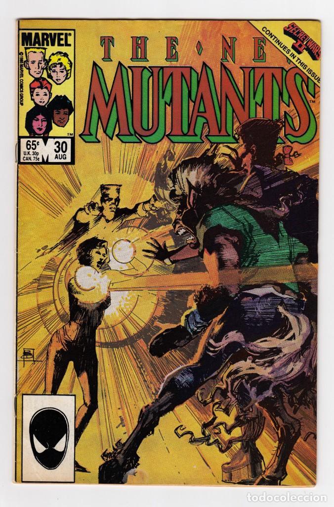 THE NEW MUTANTS 30 – MARVEL USA 1985 (Tebeos y Comics - Comics Lengua Extranjera - Comics USA)