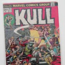 Cómics: KULL THE CONQUEROR Nº 9 USA, A CARGO DE JOHN Y MARIE SEVERIN. 1973. Lote 276974668