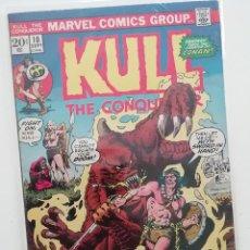 Cómics: KULL THE CONQUEROR Nº 10 USA, A CARGO DE JOHN Y MARIE SEVERIN. 1973. Lote 276974678