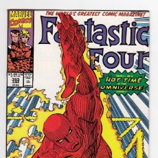 Cómics: FANTASTIC FOUR 353 – MARVEL COMICS USA – FIRST MOBIUS M. MOBIUS. Lote 275314868