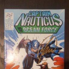 Cómics: COMIC - CAPTAIN NAUTICUS AND THE OCEAN FORCE (1994) - FIRMADO POR BILL MAUS EN SDCC. Lote 277039203