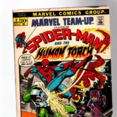 Cómics: MARVEL TEAM UP 2 - 1972 FN+ / AMAZING SPIDER-MAN & HUMAN TORCH / GERRY CONWAY & ROSS ANDRU. Lote 277053878