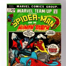 Cómics: MARVEL TEAM UP 3 SPIDER-MAN & THE HUMAN TORCH - MARVEL 1972 FN / MORBIUS. Lote 277054323