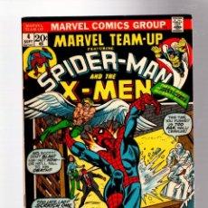 Cómics: MARVEL TEAM UP 4 SPIDER-MAN & UNCANNY X-MEN - MARVEL 1972 FN/VFN / VS MORBIUS. Lote 277054678