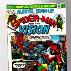 Cómics: MARVEL TEAM UP 5 SPIDER-MAN & VISION - MARVEL 1972 FN/VFN / GERRY CONWAY & GIL KANE. Lote 277055038