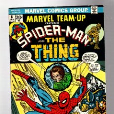 Cómics: MARVEL TEAM UP 6 AMAZING SPIDER-MAN AND THING - 1973 VG / GERRY CONWAY & GIL KANE. Lote 277055373