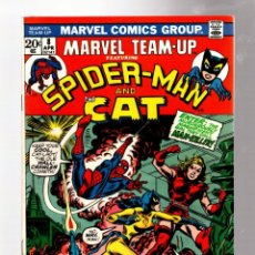 Cómics: MARVEL TEAM UP 8 AMAZING SPIDER-MAN & THE CAT - 1973 VFN / GERRY CONWAY & JIM MOONEY. Lote 277056118
