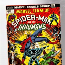 Cómics: MARVEL TEAM UP 11 AMAZING SPIDER-MAN & INHUMANS - 1973 FN+ / KANG THE CONQUEROR. Lote 277057203